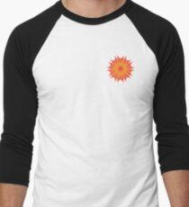 Fluid floral abstraction Men's Baseball ¾ T-Shirt