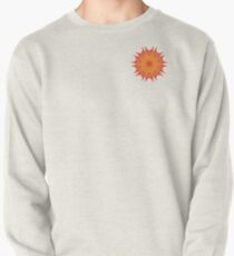 Fluid floral abstraction Pullover