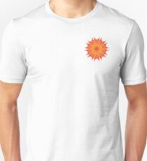 Fluid floral abstraction Unisex T-Shirt