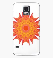 Fluid floral abstraction Case/Skin for Samsung Galaxy