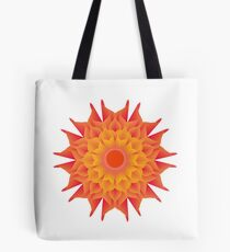 Fluid floral abstraction Tote Bag