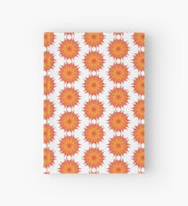 Fluid floral abstraction Hardcover Journal