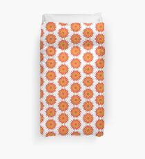 Fluid floral abstraction Duvet Cover