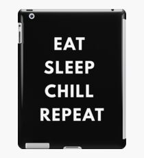 Chill,procrastinate iPad Case/Skin