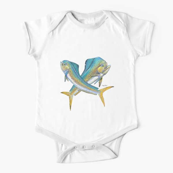 Cow and Bull Mahi Short Sleeve Baby One-Piece