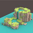 Pixel World by Mariewsart