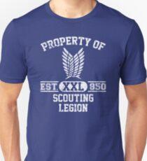 Property of Scouting Legion - Survey Corps logo Unisex T-Shirt