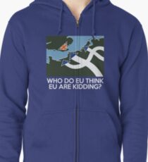 Dad's Army Brexit Zipped Hoodie