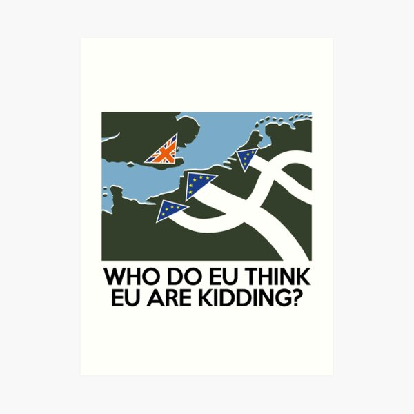 Dad's Army Brexit Art Print