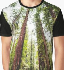 Humboldt Redwoods State Park Graphic T-Shirt