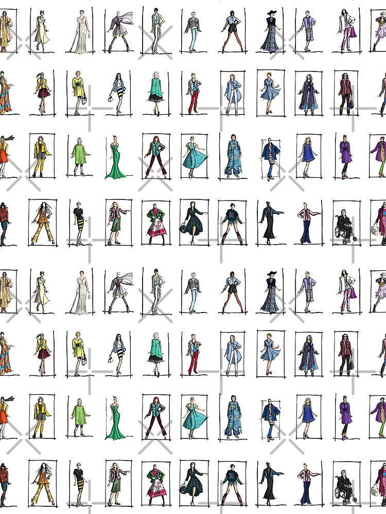 Fashion Rainbow -- 52 Over-40 Bloggers by annembray