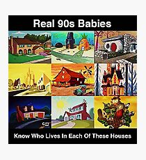 Real 90s babies Photographic Print