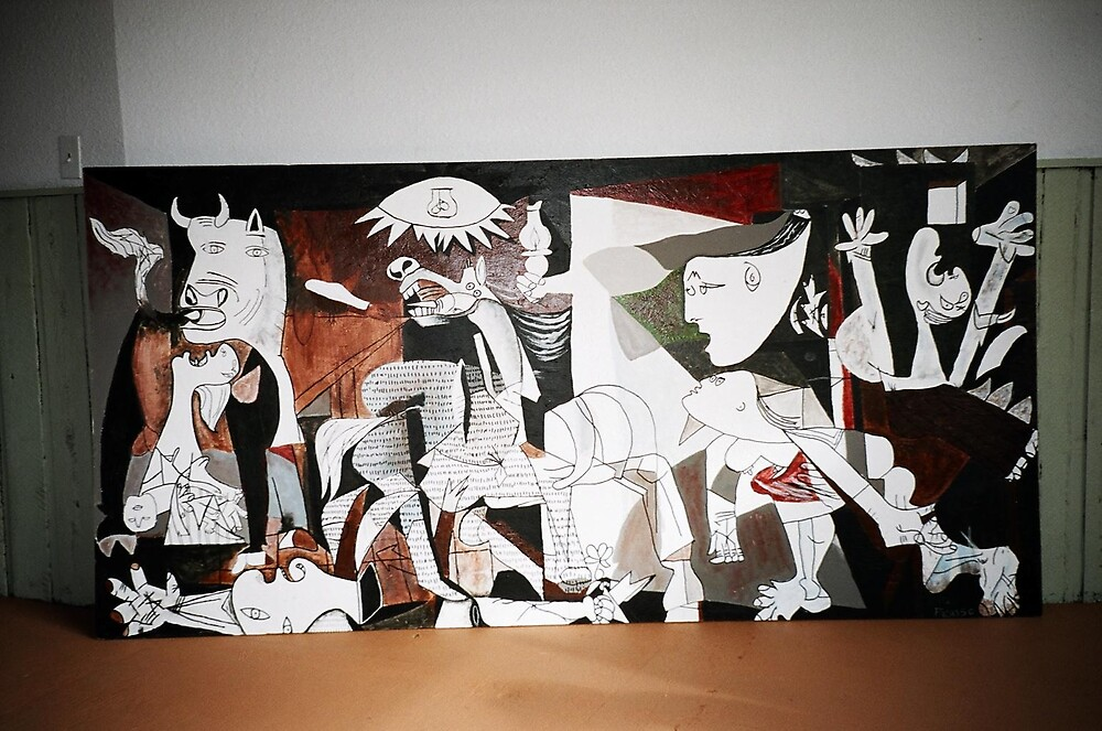 Errol's Guernica by students