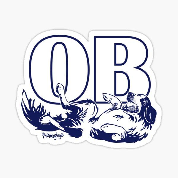 Ocean Beach Dog Beach  Sticker