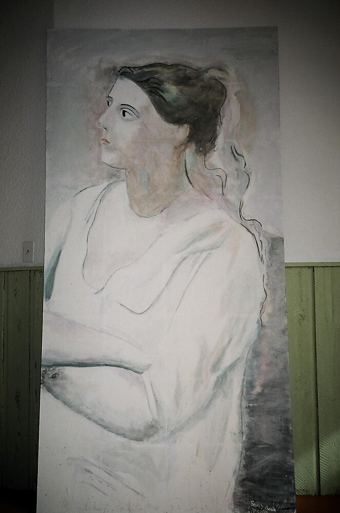 Lady in White by students