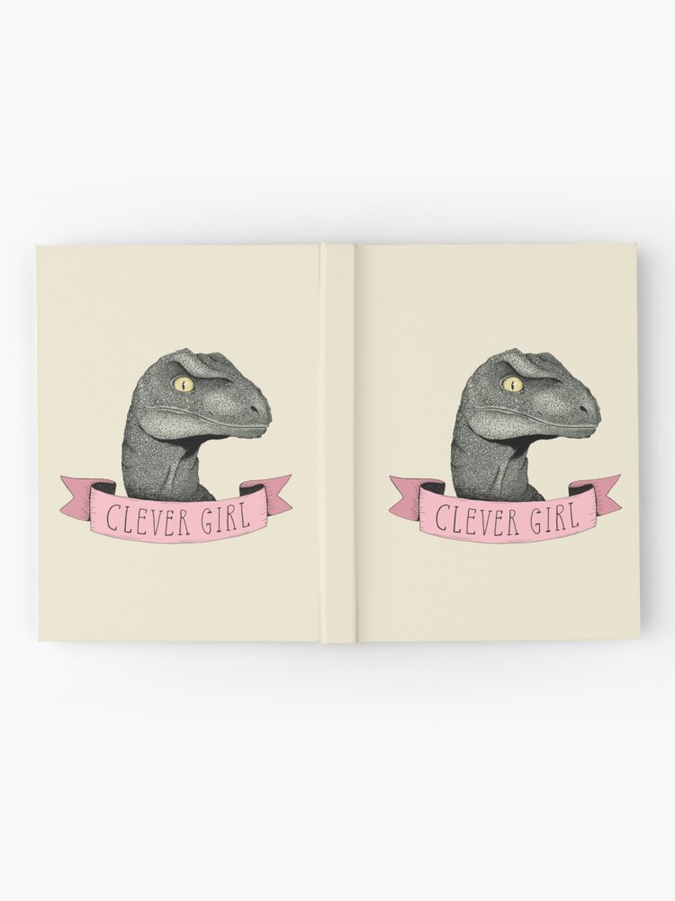 Alternate view of Clever Girl Hardcover Journal
