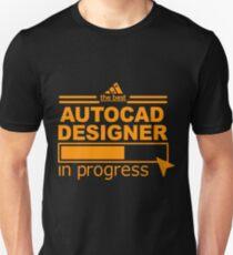 AUTOCAD DESIGNER Unisex T-Shirt