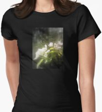 apple blossoms #2, focal black and white T-Shirt