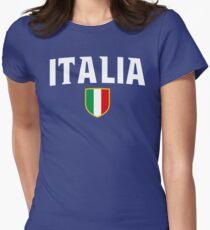 Camiseta entallada Italia Flag Emblem