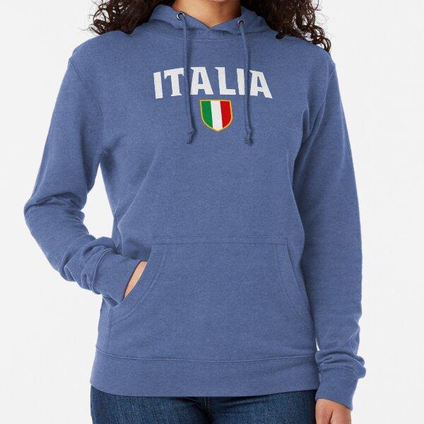 Italia In the Blood Women Hoodie World Cup 2014 Soccer Team Forza Italian Pride