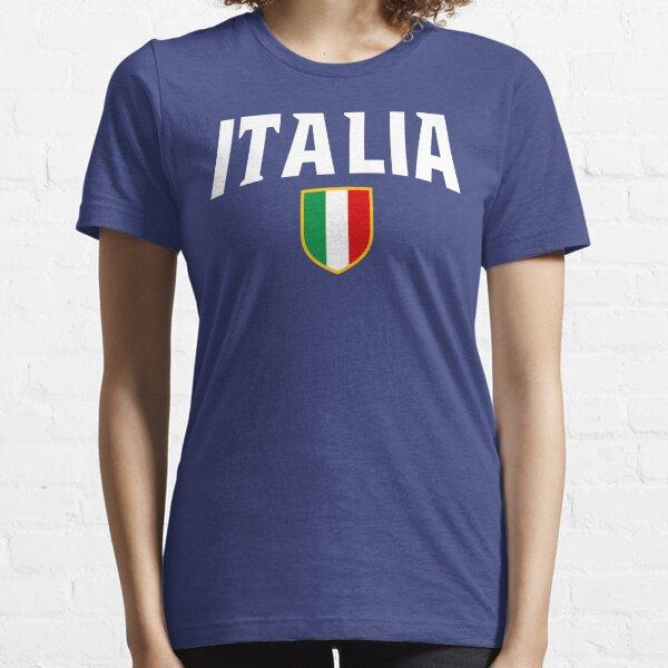 Italia Flag Emblem Essential T-Shirt