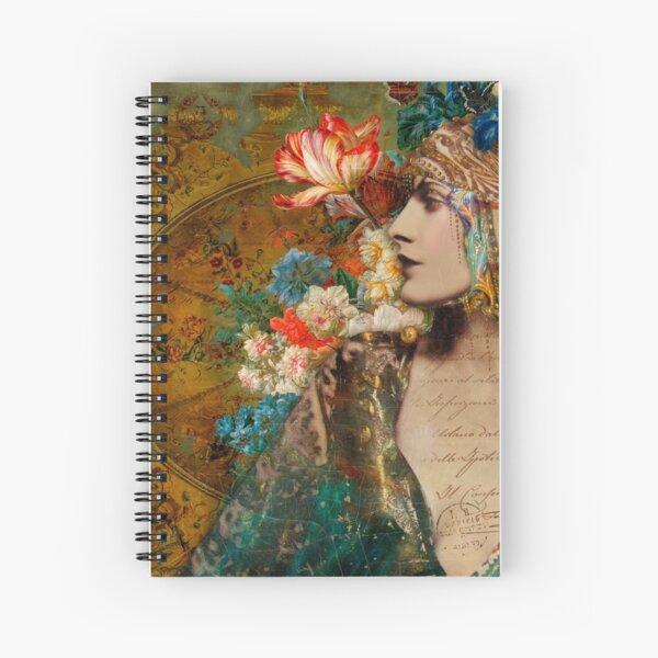 Scheherezade Spiral Notebook