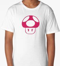 peach mushroom Long T-Shirt