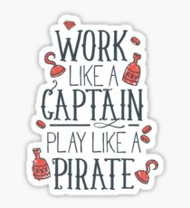 Play Like a Pirate Sticker
