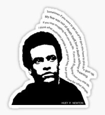 huey p. newton Sticker