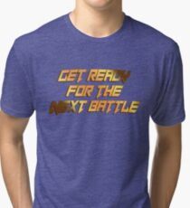 tekken - get ready Tri-blend T-Shirt