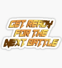 tekken - get ready Sticker