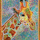 Bunte Giraffe von Celso Studio