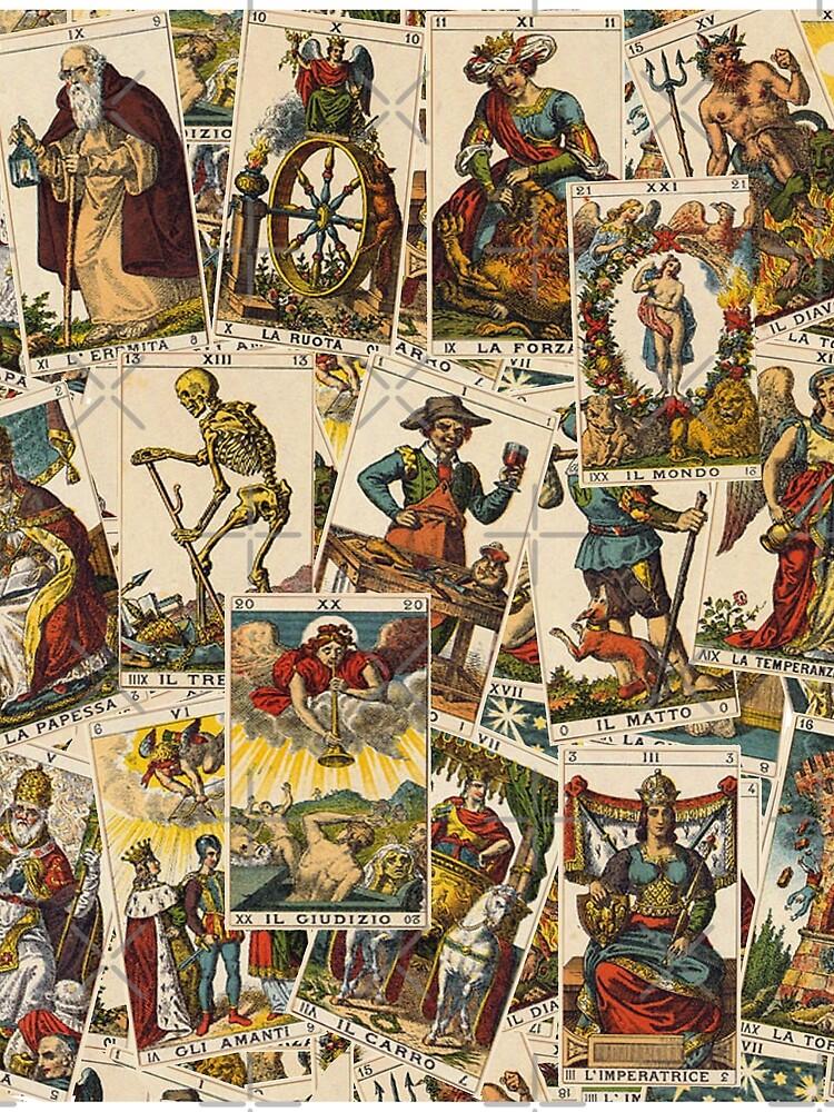 Tarot cards pattern by ValentinaHramov