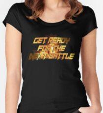tekken - get ready for Women's Fitted Scoop T-Shirt