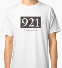 921 Black granite Door Plaque Design Classic T-Shirt