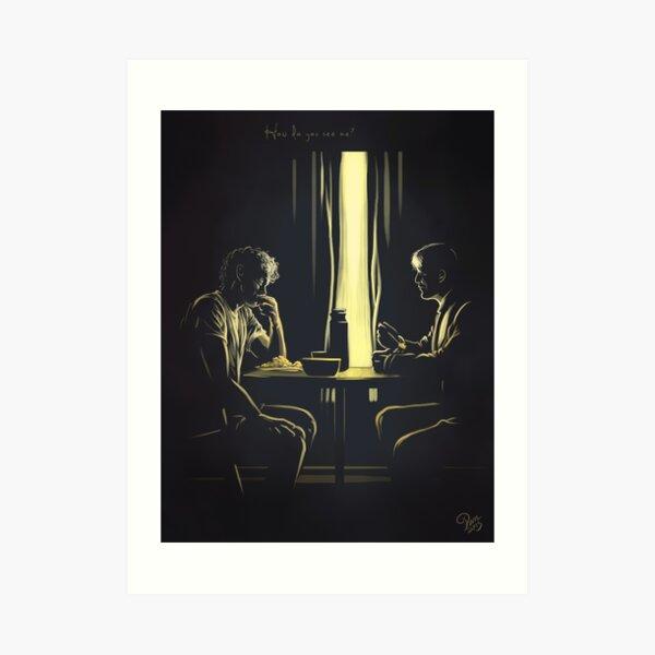 How do you see me?-Hannigram Art Print