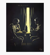 How do you see me?-Hannigram Photographic Print