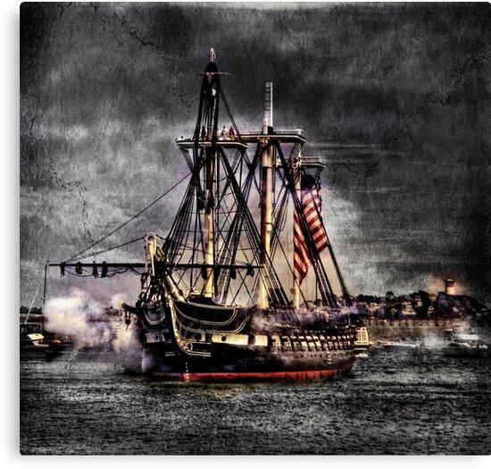 World's oldest commissioned warship afloat - USS CONSTITUTION by LudaNayvelt