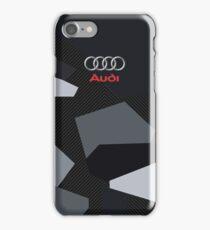 Audi winter pattern iPhone Case/Skin
