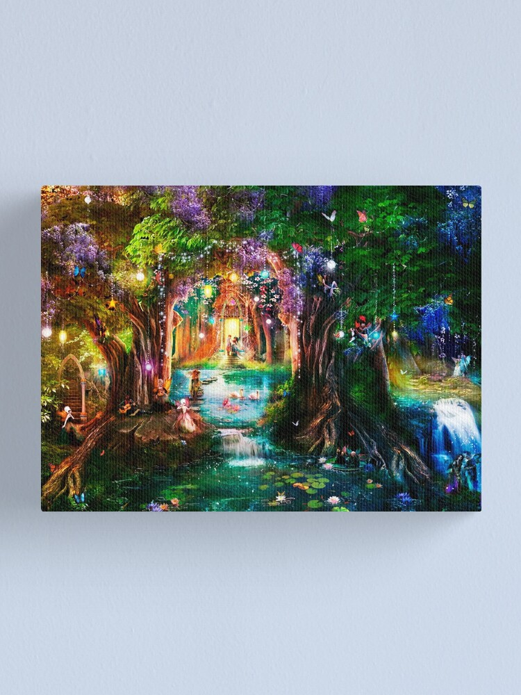 Alternate view of The Butterfly Ball Canvas Print