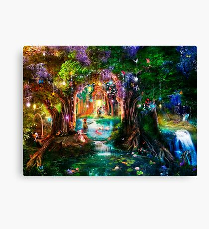 The Butterfly Ball Canvas Print