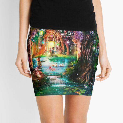 The Butterfly Ball Mini Skirt
