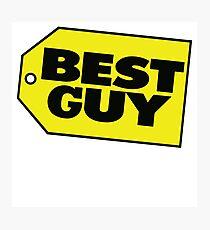 Best Guy - Best Buy Spoof Logo Photographic Print