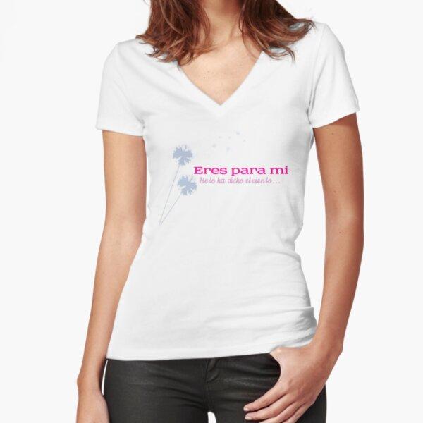 Eres Para Mi - Julieta Venegas Fitted V-Neck T-Shirt