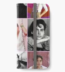 cole sprouse pink aesthetic collage  iPhone Wallet/Case/Skin