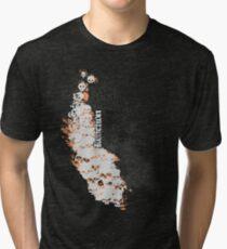 Reaction - Boneyard (Dark Colours) Tri-blend T-Shirt