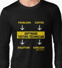SOFTWARE TESTING TECHNICIAN Long Sleeve T-Shirt