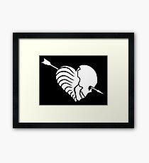 Eros / Thanatos Framed Print