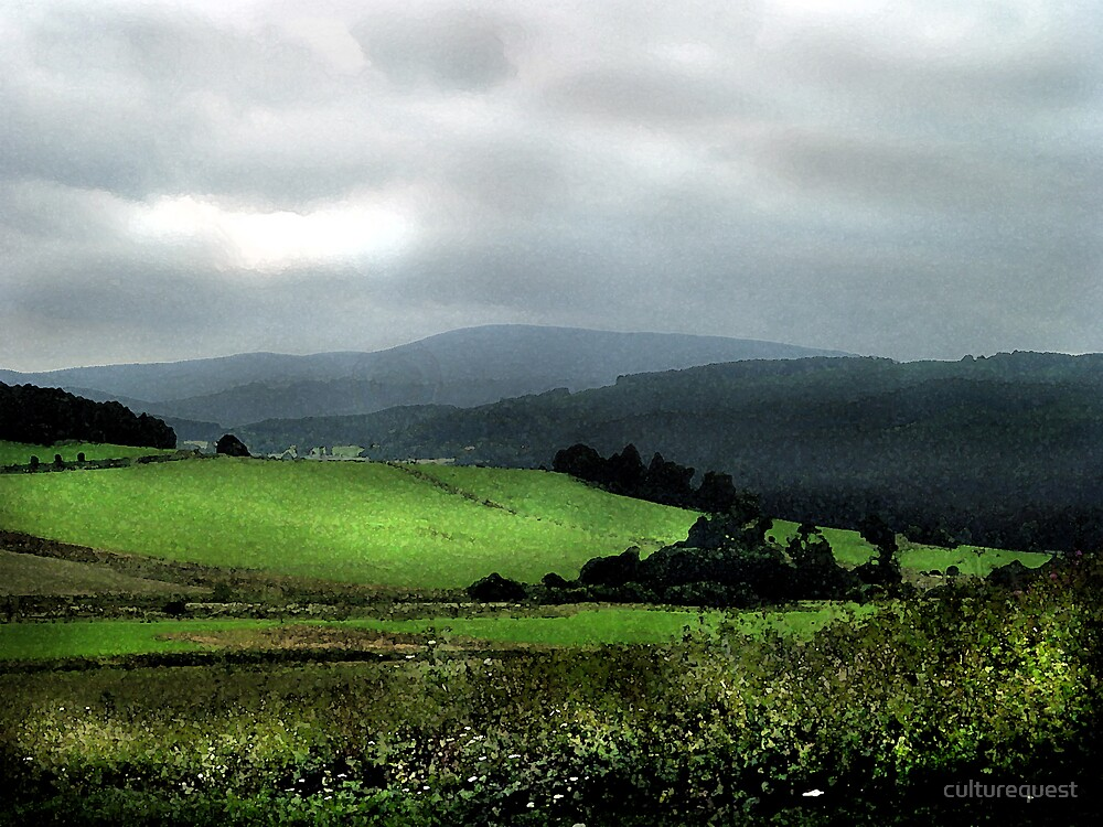 Green hills of Bohemia by culturequest