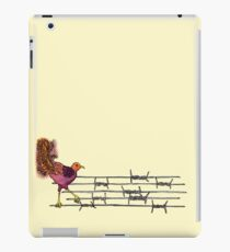 Lyre on the Wire iPad Case/Skin
